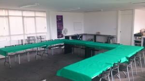 sala para cursos y capacitaciones en renta