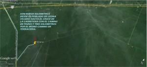 terreno de 5 hect�reas en la ruta de los cenotes