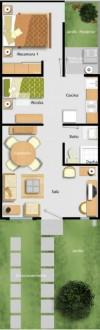 casa en renta 1000