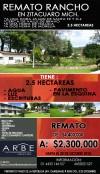 Remato Hermoso Rancho en Zit�cuaro, Mich.
